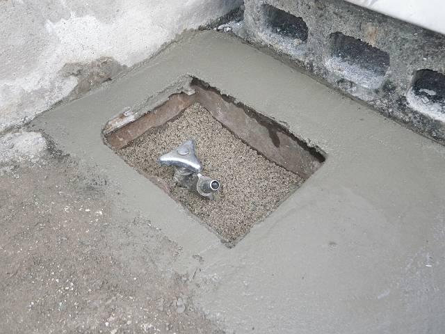 南区 漏水修理完了