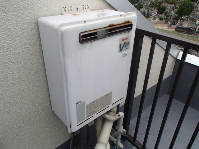 名古屋市天白区 ガス給湯器取替工事 施工前