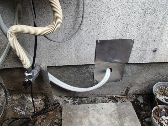 小牧市 ガス給湯器新設工事 循環アダプター工事