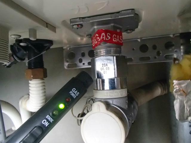 春日井市 ガス給湯器取替工事 ガス漏れチェック