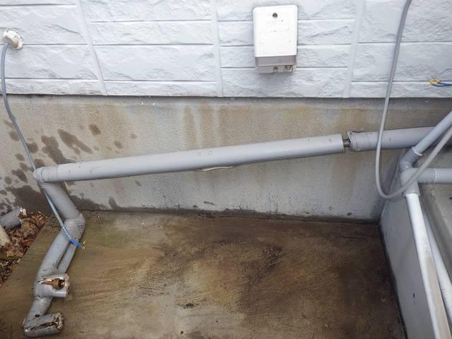 鈴鹿市 ガスふろ給湯器取替工事 外したよ。