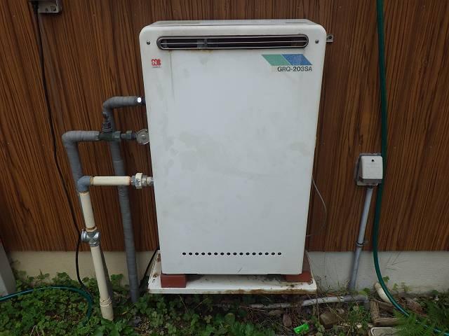 名古屋市南区 ガスふろ給湯器取替工事 施工前