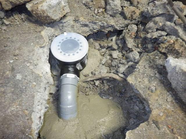 名古屋市中川区 流し台取替工事 排水トラップも取り替えました
