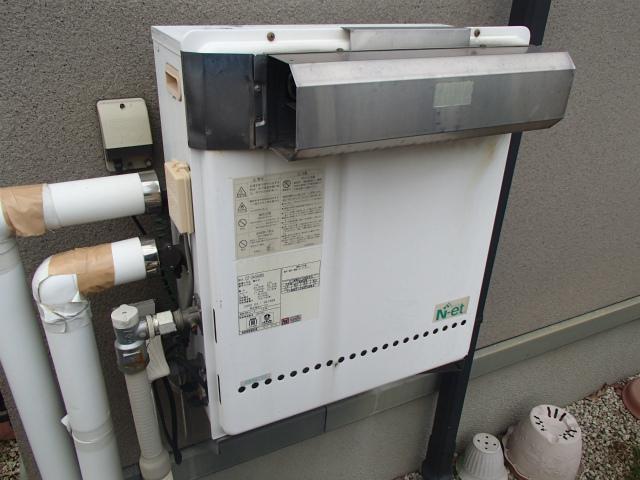 春日井市 ガス給湯器取替工事 施工前