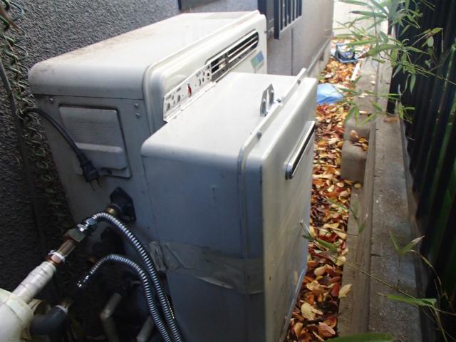岡崎市 ガス給湯器取替工事 施工前