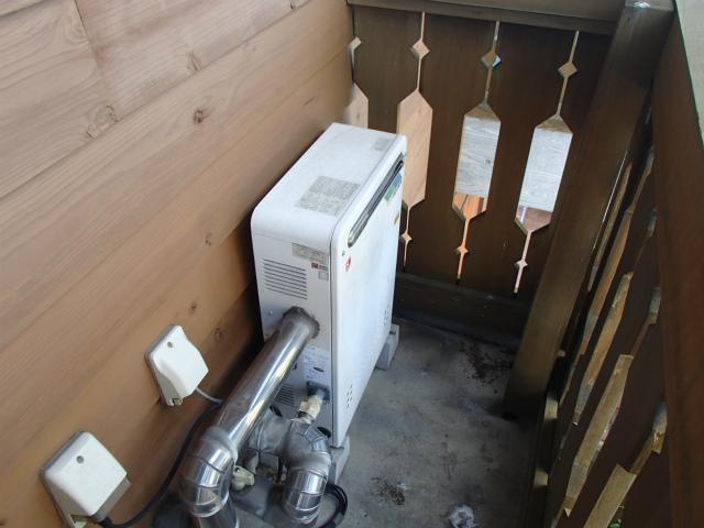 ガス給湯器取替工事(名古屋市昭和区)施工前
