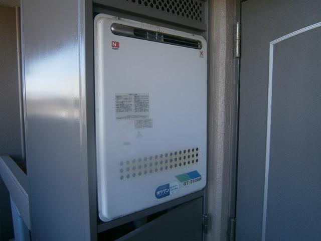 豊田市 ガス給湯器取替工事 施工前