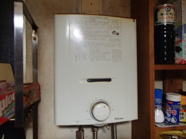 ガス瞬間湯沸し器取替工事(春日井市) 施工前