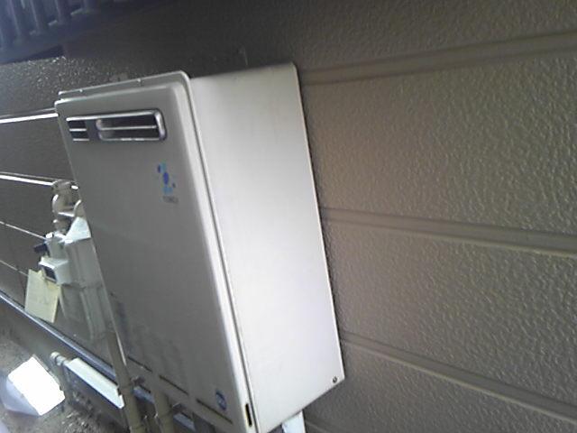 ガス給湯器 交換工事(名古屋市港区) 施工事例 既設品