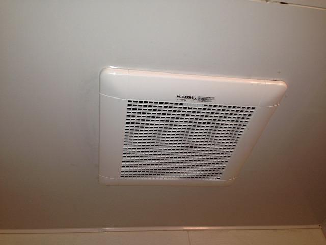 浴室換気扇取替工事(安城市)施工事例 完成 VD-13ZFC9