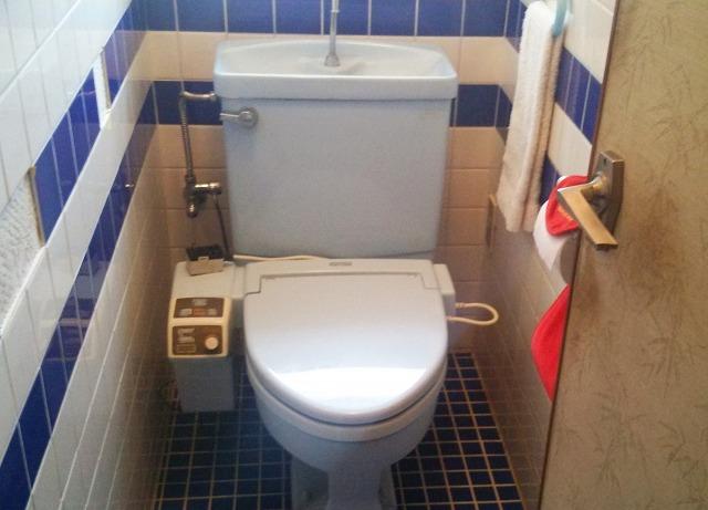 トイレ取替工事(愛知県みよし市)施工前