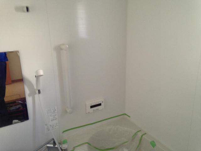 浴室テレビ新規取付工事 (清須市) 施工前