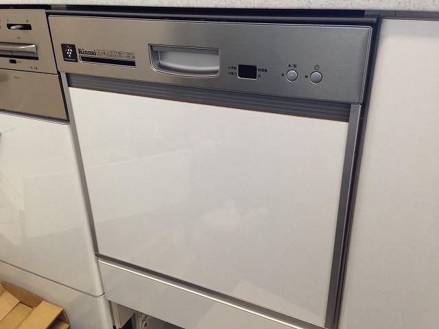 愛知県長久手市W様邸食洗機取替工事 施工事例 完成RKW-402LP-ST