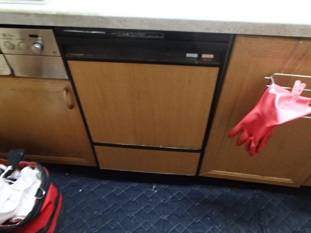 ビルトイン食洗機取替工事(名古屋市天白区)施工前