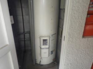 電気温水器取替工事(名古屋市千種区)施工前