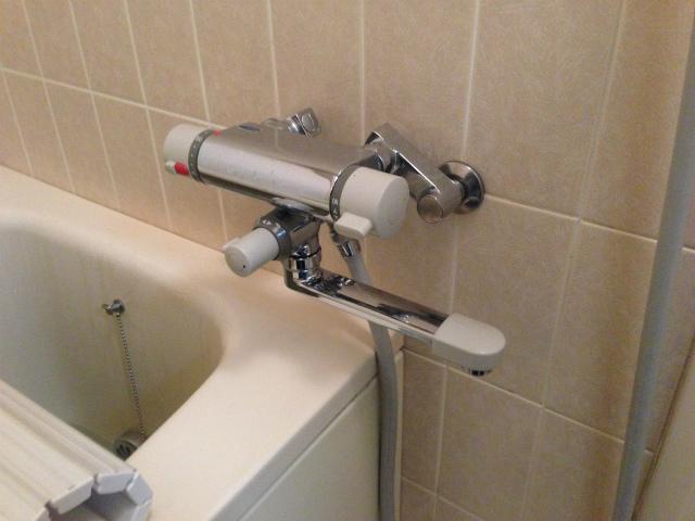 浴室水栓取替工事(名古屋市北区)施工前