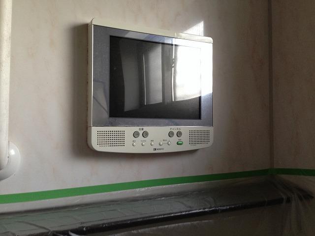 愛知県高浜市N様邸浴室テレビ取替工事 施工事例 施工前