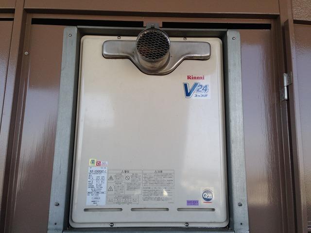 愛知県春日井市Y様邸給湯器取替工事 施工事例 施工前