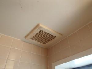 パナソニック浴室換気扇取替工事(小牧市)施工前