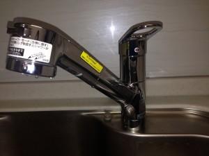 名古屋市瑞穂区S様邸キッチン水栓取替工事 完成TKGG32EB