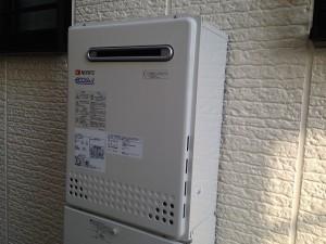 三重県四日市市給湯器取替工事 完成GT-C2452SAWX
