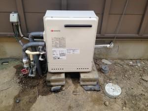 豊橋市給湯器取替工事 完成GT-2050SARX