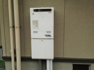 豊田市ガス給湯器取替工事 施工事例 施工前