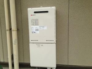 豊田市ガス給湯器取替工事 施工事例 完成GT-2450SAWX