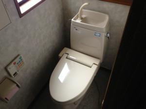 トイレ取替工事(名古屋市天白区)施工前