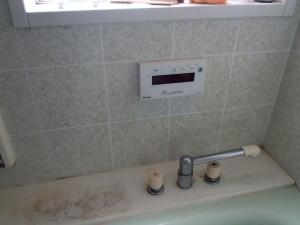 ノーリツ浴室テレビ新設工事(あま市)施工前