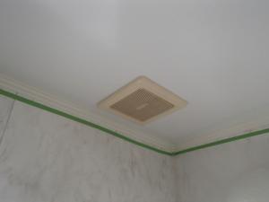 パナソニック浴室暖房乾燥機新設工事(名古屋市天白区)施工前