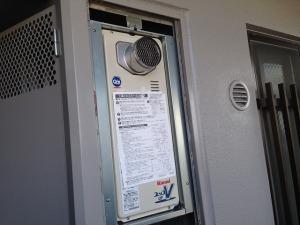 江南市 ガスふろ給湯器 取替工事 完成 RUF-VS1605SAT