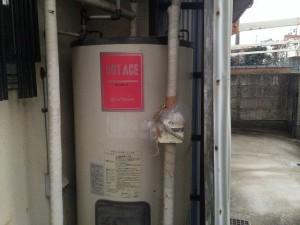 日進市 電気温水器取替工事 施工事例