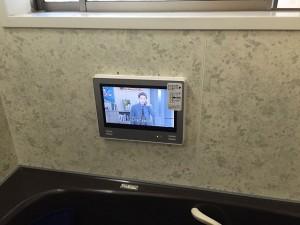 岡崎市 浴室テレビ取替工事 完成VB-BS121S