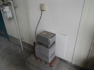 リンナイガス給湯器新設工事(名古屋市緑区)施工前