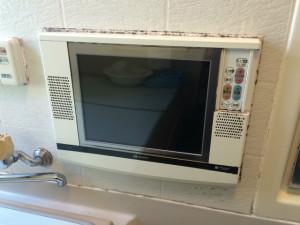 浴室テレビ取替工事(名古屋市守山区)施工前