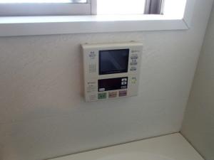 ツインバード浴室テレビ取替工事(名古屋市中区)施工前