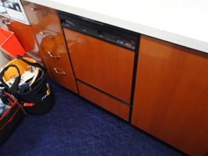 パナソニックエコナビ搭載ビルトイン食洗機取替工事(日進市)施工前