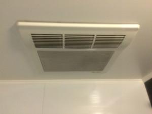 浴室暖房換気扇取替工事(春日井市)施工前