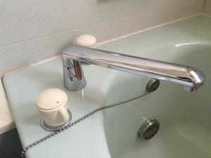 浴室水栓取替工事(千種区)施工前