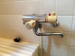 浴室水栓取替工事(名古屋市千種区観月町)施工前
