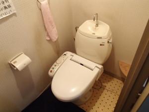 TOTOトイレ取替工事(名古屋市西区上名古屋)施工前