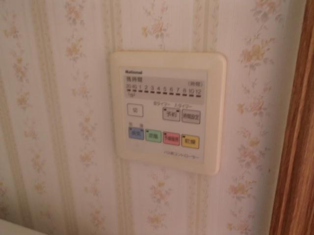 名古屋市名東区西里町パナソニック浴室暖房乾燥機取替工事 リモコン施工前