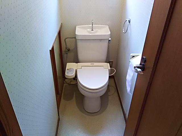 TOTOトイレ取替工事小牧市高根 施工前