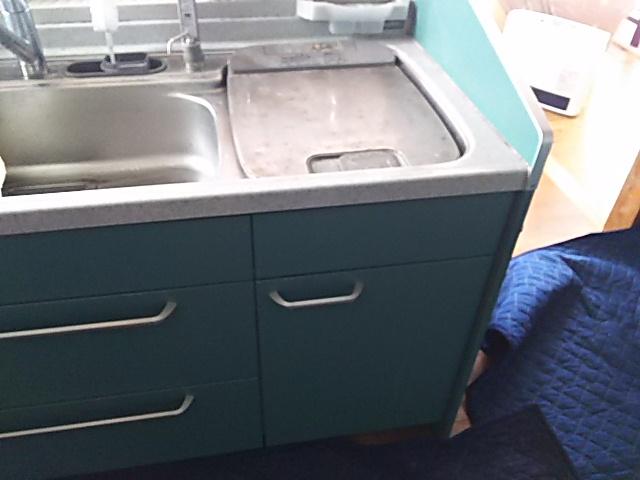 パナソニックビルトイン食洗機取替工事浜松市南区 施工前