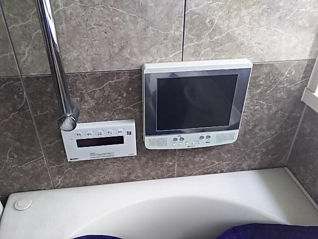 ツインバード浴室テレビ取替工事一宮市桜 施工前