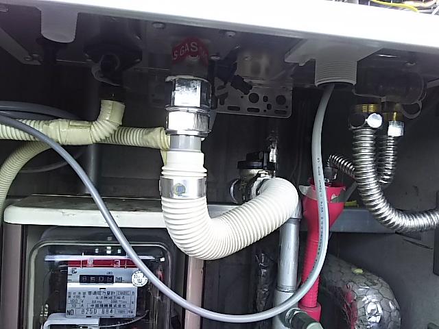 ガス漏れチェックOK