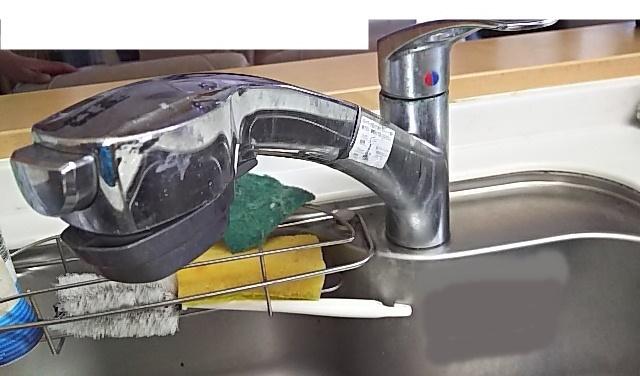 既設キッチン水栓