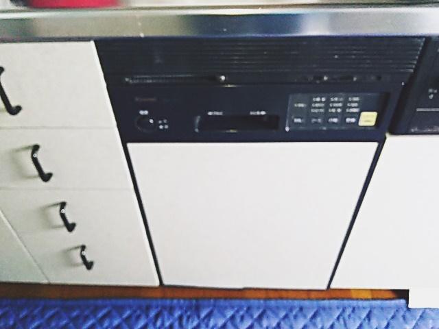 既設フロントオープン食洗機