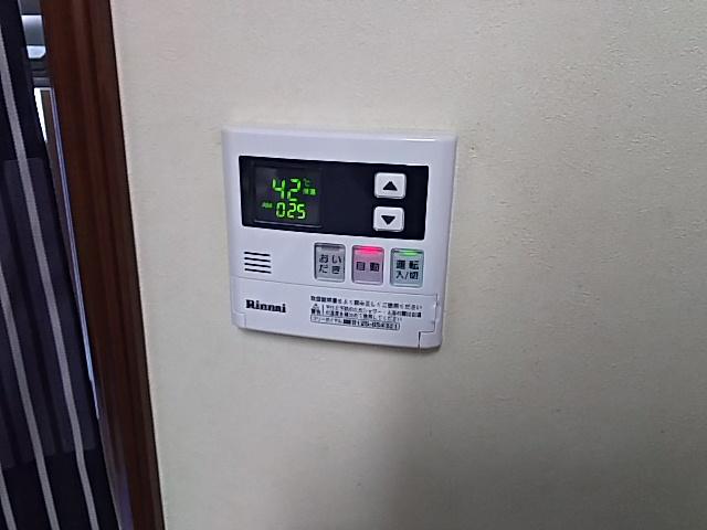 豊橋市据置型設置給湯器取替工事 台所リモコン取替完了